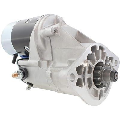 New Premium Gear Reduction Starter fits Volvo Penta Marine Eng KAD43DP Yanmar Marine Eng 6LP-DT - 6LP-STZE 6-Cyl Diesel 6TA-81800-00 6TA-8180000-00 228000-2030 228000-2031 228000-2032 119773-77010: Automotive