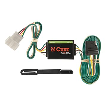 CURT 55106 Vehicle-Side Custom 4-Pin Trailer Wiring Harness for Select on
