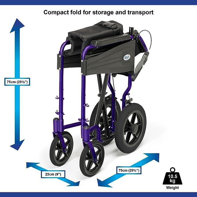 Days Escape Lite Aluminium Wheelchair image 3