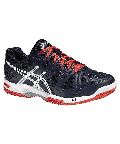 Asicsgel Game 5 Clay - Zapatillas de Tenis Hombre, Color Blanco, Talla 39 EU: Amazon.es: Zapatos y complementos