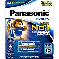Panasonic AAA Batteries (2 pack) Evolta , , (LR03EG/2B)