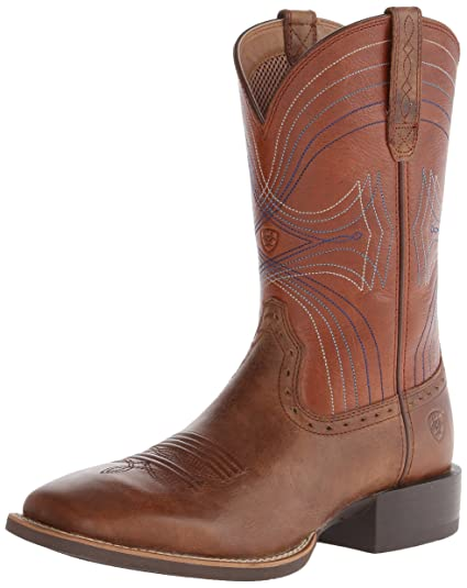 ARIAT Mens Sport Wide Square Toe Western Boot