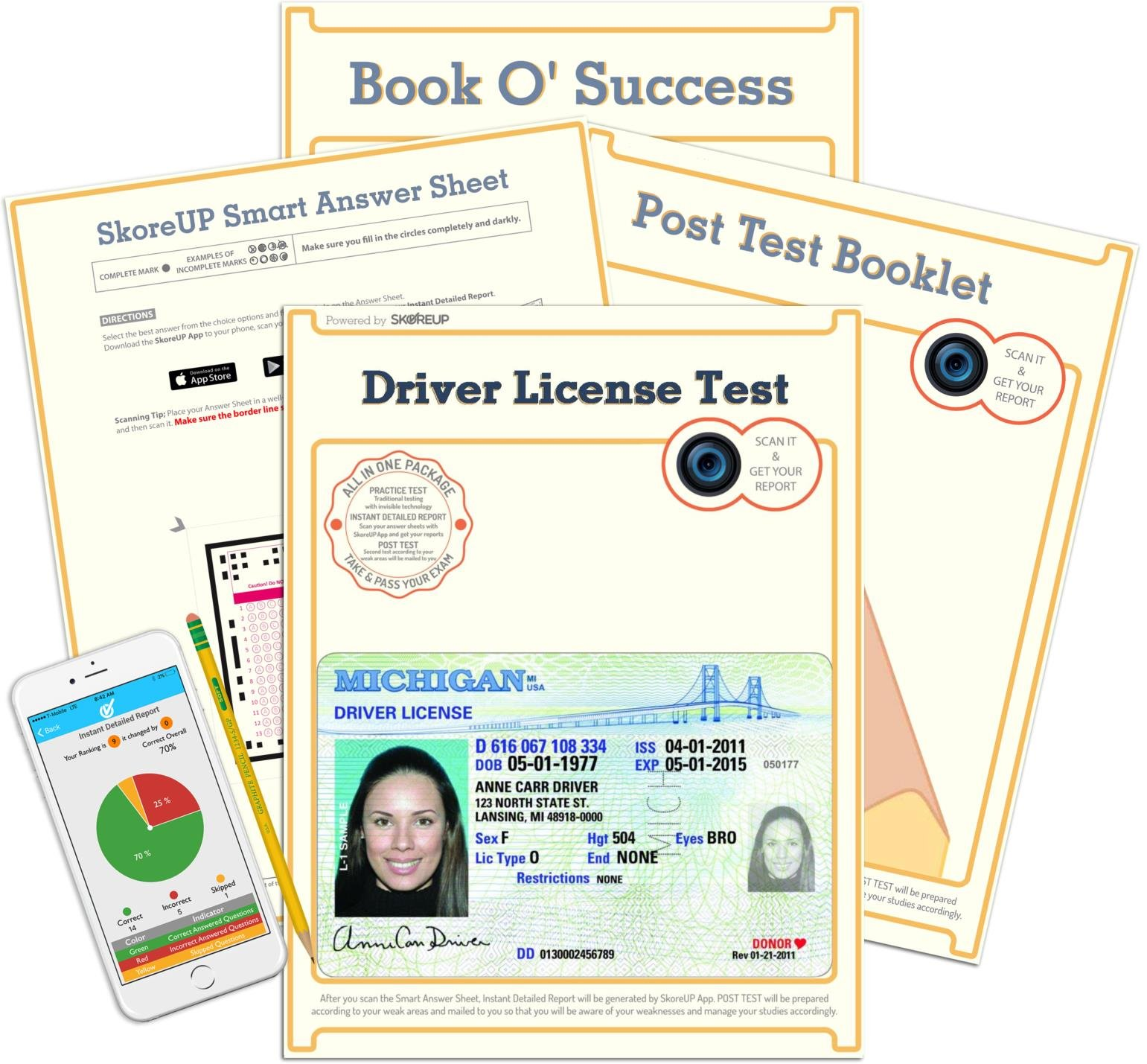 state of michigan drivers license practice test