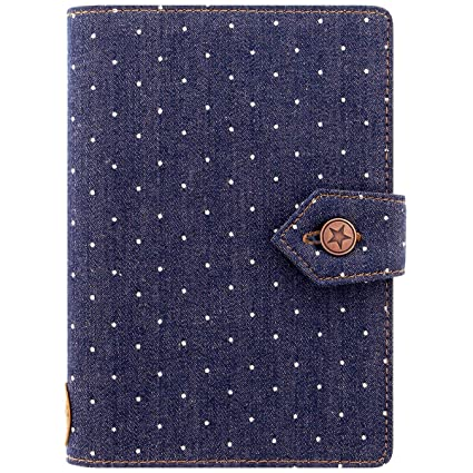 Amazon.com : Filofax Denim Weekly Personal Agenda : Office ...