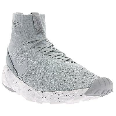 Nike Air Footscape Magista Flyknit, Chaussures de Foot Homme, Gris