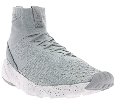 Nike Air Footscape Magista Flyknit, Chaussures de Football Homme, Gris (Wolf Grey/Wolf Grey-Cool Grey), 42 EU