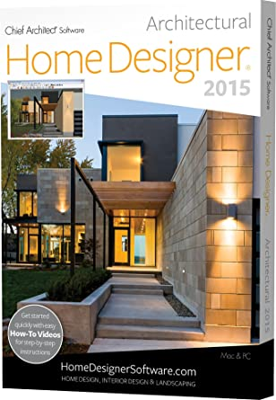 chief architect home designer architectural 2015 pc mac software