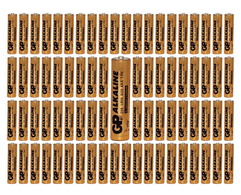 1100-Pack GP Size AAA Batteries Alkaline 1.5V LR03 BULK Wholesale Lot 2019