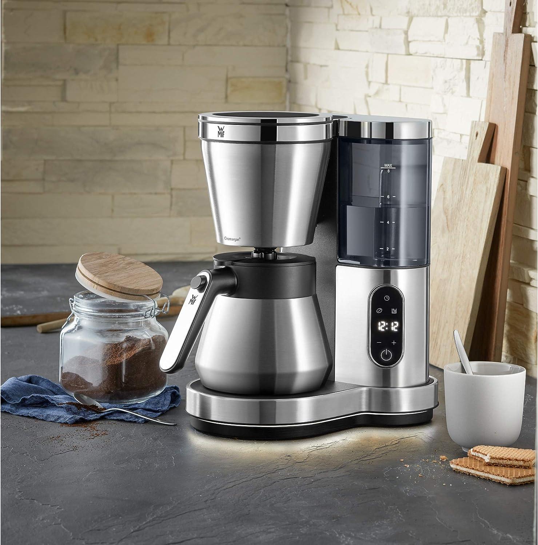 Schwere Kaffeemaschine aus Edelstahl