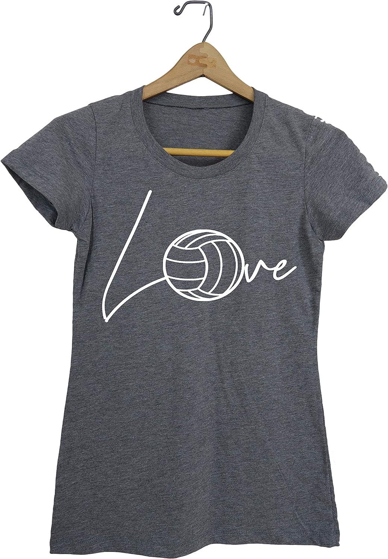 Love Volleyball Ball Volleyball Tee Shirt Volleyball Player Teen Girls t-Shirt Gift