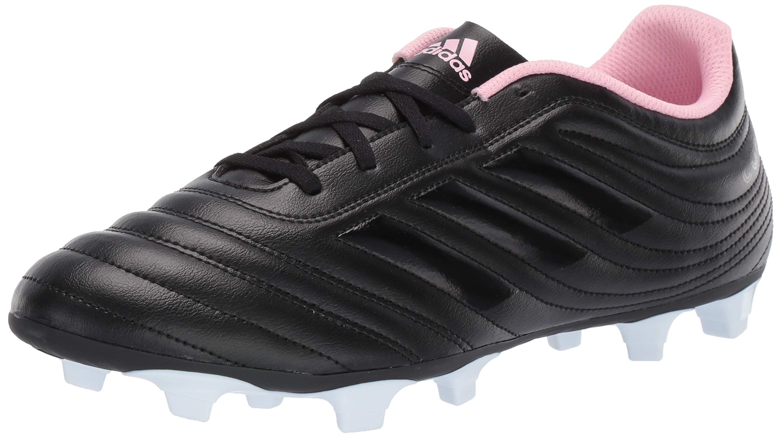adidas Copa 19.4 Firm Ground, Black/Clear/True Pink, 5.5 M US