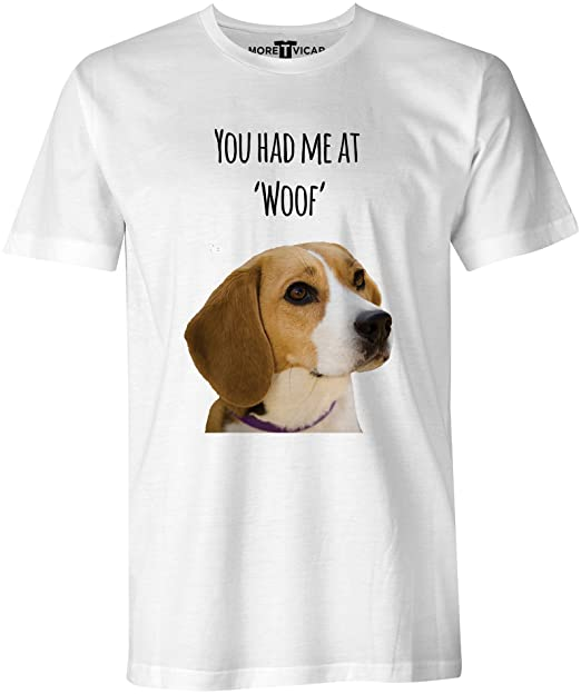 You Had Me At Woof -Beagle Perro Hombres T Shirt