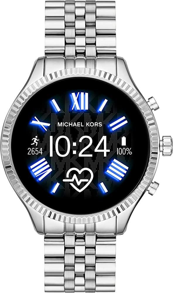 Michael Kors Access Gen 5 Lexington Smartwatch Powered with Wear OS by Google with Speaker, Heart Rate, GPS, NFC, and Smartphone Notifications