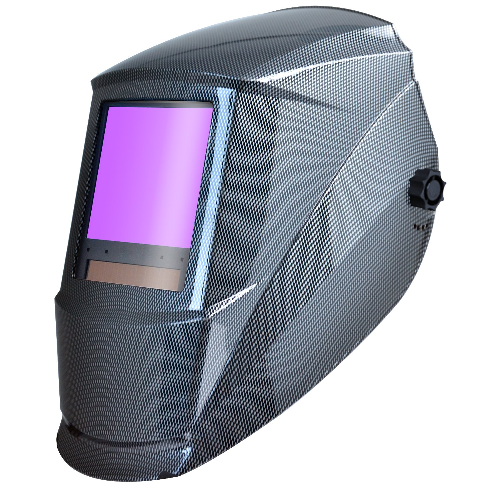 Antra Welding Helmet Auto Darkening AH7-860-001X Huge Viewing Size 3.86X3.5'' Wide Shade Range 4/5-9/9-13 Great for TIG MIG/MAG MMA Plasma, Grinding, Solar-Lithium Dual Power, 6+1 Extra Lens Covers