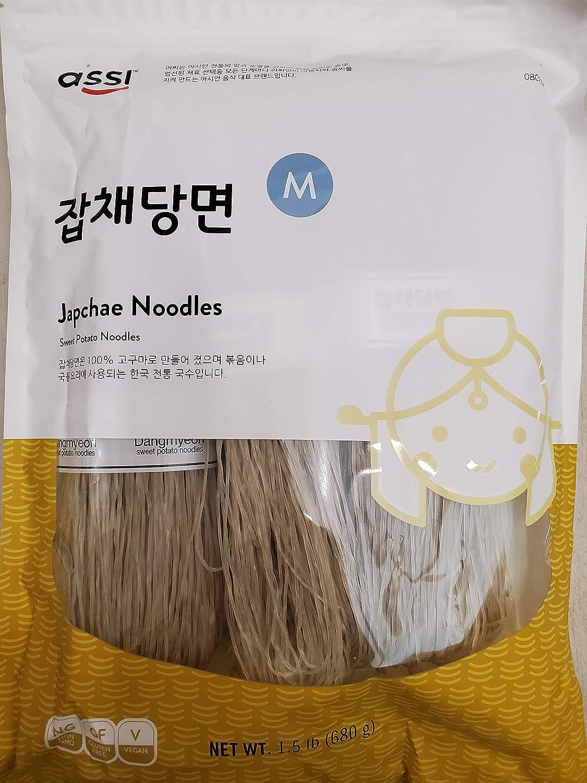 assi Sweet Potato Noodles, Jabchae, 1.5 Pound
