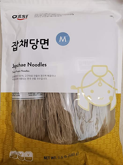 Top 9 Korean Food Japchea Noodles