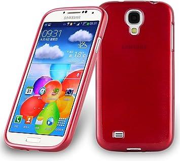 Cadorabo Funda para Samsung Galaxy S4 en Rojo: Amazon.es: Electrónica