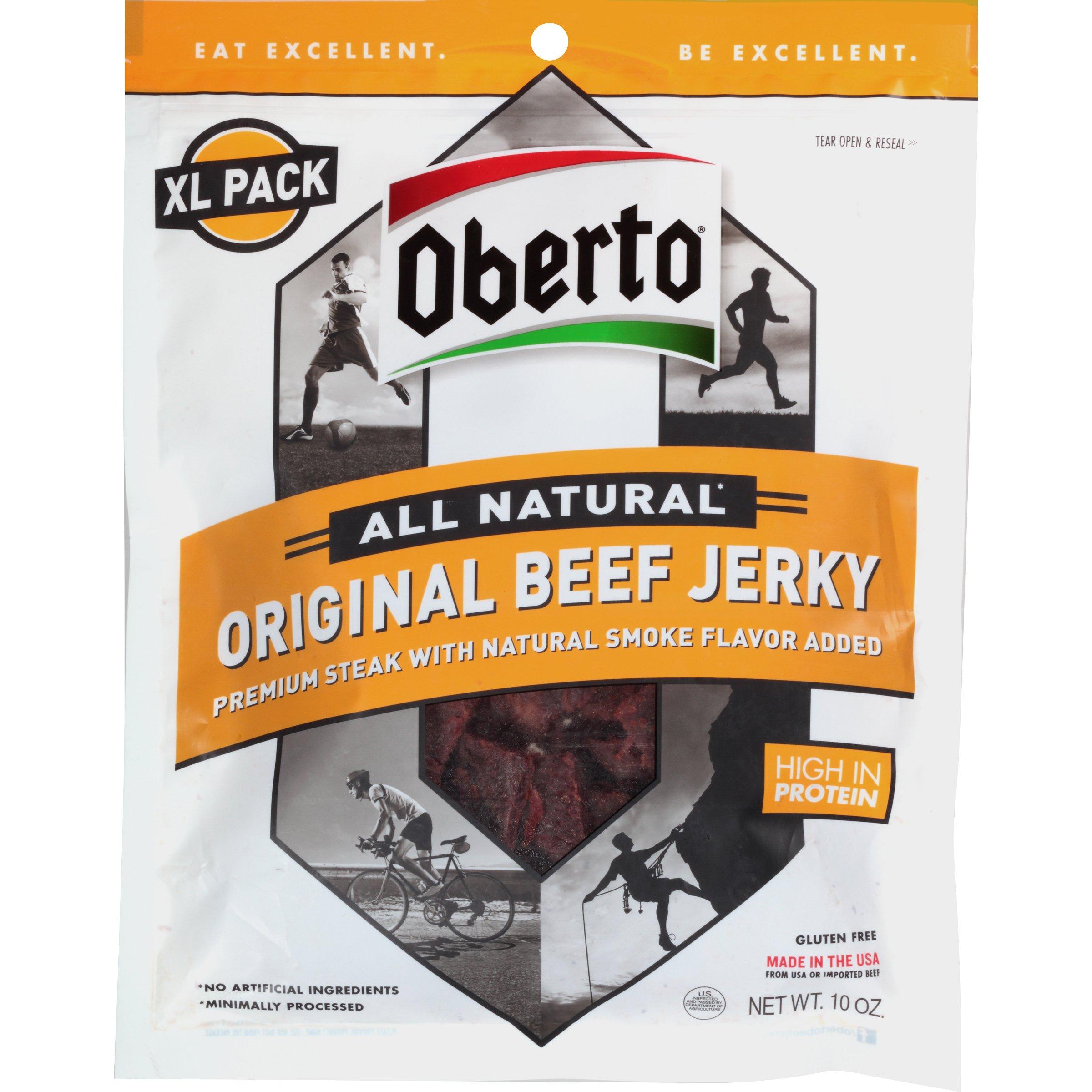Oberto All Natural Original Beef Jerky, 10 Ounce