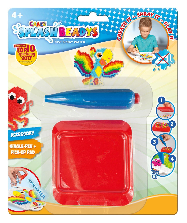 CRAZE 11157/Splash Beadys Single with Board Assorted