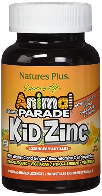 Amazon Com Nature S Plus Animal Parade Kidzinc Lozenges