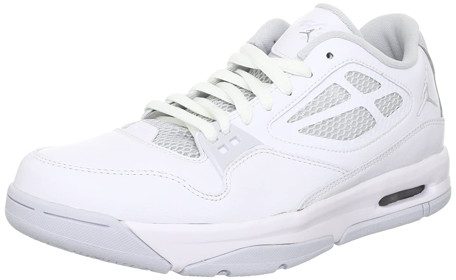 best website b3426 8f7aa Nike Men s Jordan Flight 23 RST Low Basketball Shoes 10 (White Pure  Platinum)  Buy Online at Low Prices in India - Amazon.in