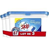 Skip Lessive Capsules Duo Active Clean 29 Lavages - Pack de 3