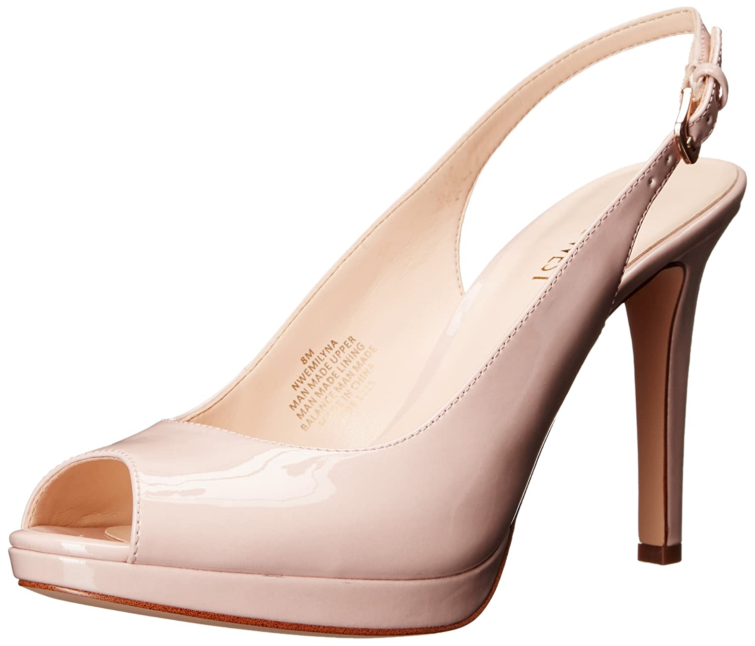e8bc9a46bf4 Nine West Women s Emilyna Synthetic Dress Pump delicate - hvhuissen.nl