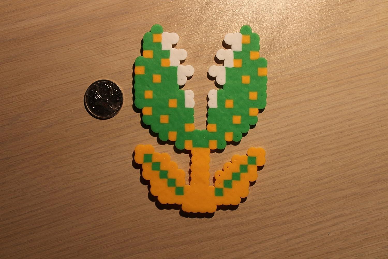 Amazon Com Piranha Plant Pixel Art Bead Sprite From Super Mario