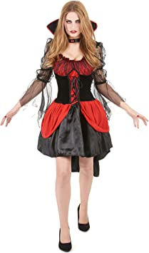Disfraz vampiro sexy mujer - M: Amazon.es: Juguetes y juegos