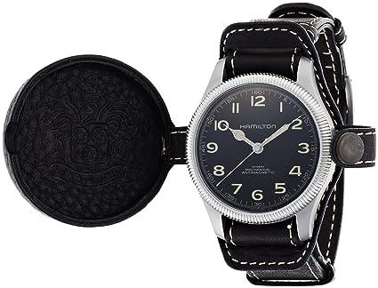 Hamilton Khaki Field Pioneer Black Dial Men S Watch H60419533