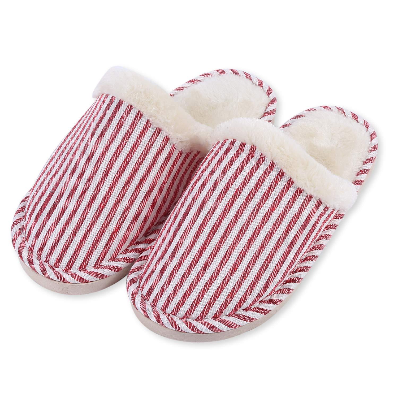 TININNA Unisexe Ultra L/éger Sandales dhiver,Pantoufles Chaussons en Coton Mousse /à m/émoire Chaud Hiver Intrarieur Anti-Derapant Shoes Chaussures House Slipper pour Femmes Hommes Beige S