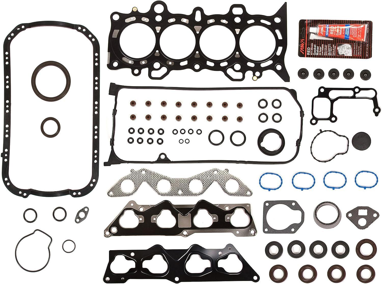 OK4034//2//2//2 01-05 Honda Civic VTEC 1.7L SOHC 16V D17A2 D17A6 Engine Rebuild Kit