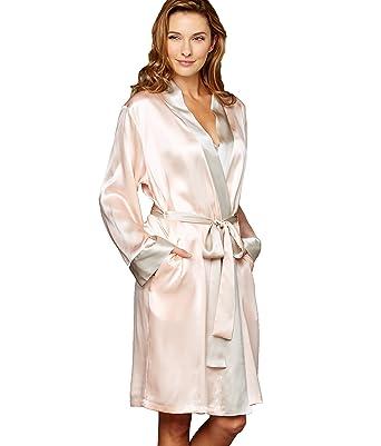 75fa23c76daa Julianna Rae Women s Simplicity 100% Silk Robe at Amazon Women s ...