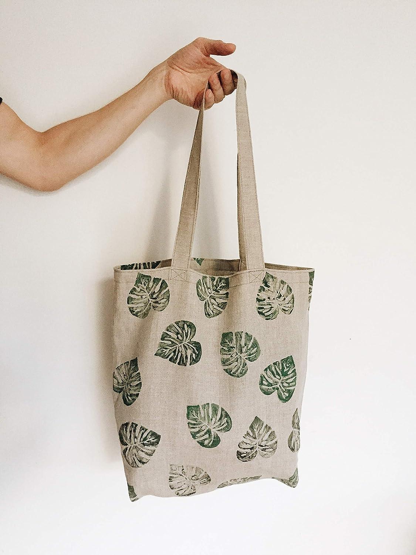 Linen Bread Bag Food Storage Bag Pure Linen Eco Friendly Vegan Reusable Bags