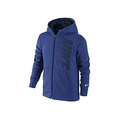 Nike Ya76 BF GFX FZ Hoodie YTH - Sudadera para niño, Color Negro/Blanco, Talla L: Amazon.es: Deportes y aire libre