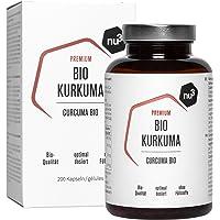 nu3 Cúrcuma Orgánica - 200 cápsulas con kurkuma