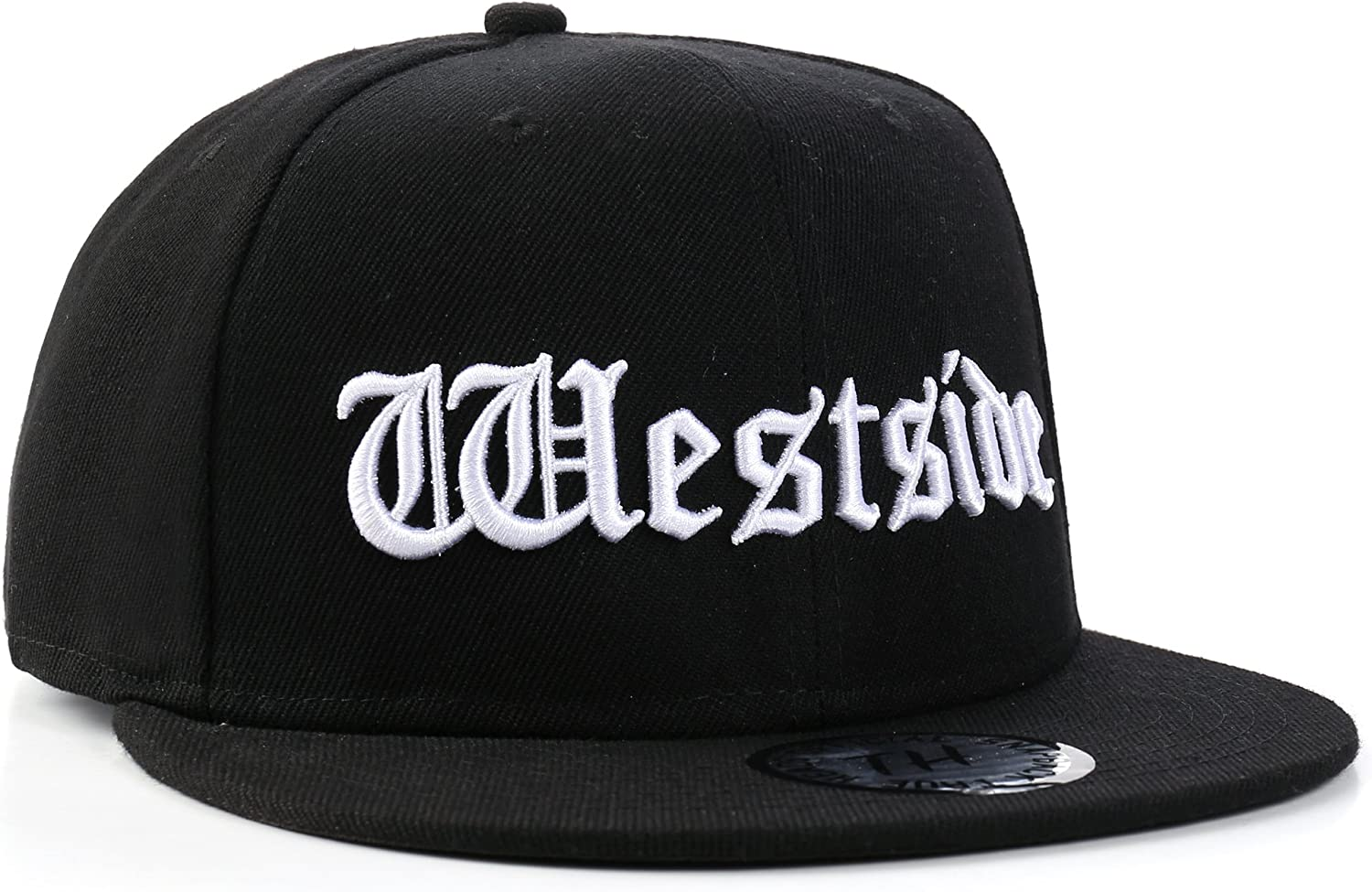 Costa Este vs Costa Oeste Gorra Negra Hip Hop por True Heads ...