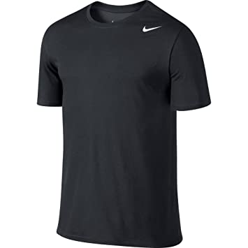 Nike Men's Dri-Fit Version 2.0 T-Shirt - Black/White, Small