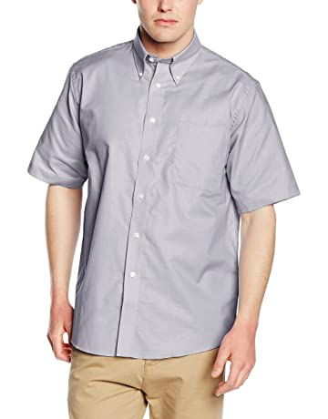 5c727e1ee790 Fruit of the Loom Men s Oxford Short Sleeve Shirt