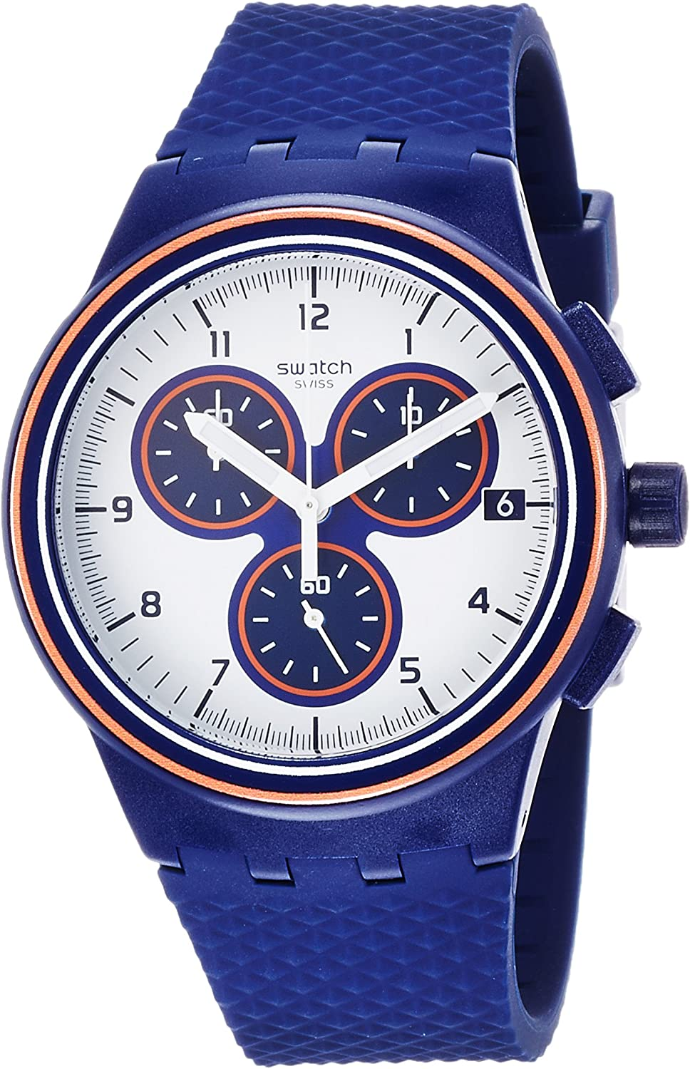 Swatch PARABORDO Mens Watch SUSN412
