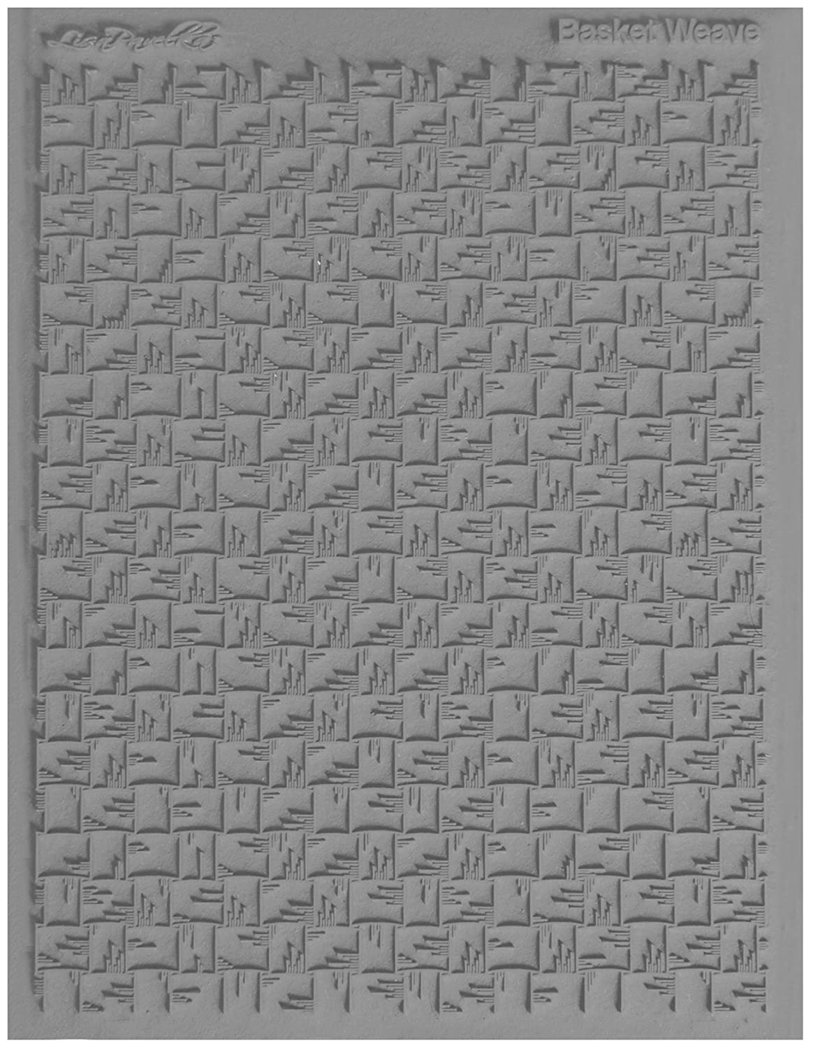 JHB International Inc Lisa Pavelka 527095 Texture Stamp Basketweave