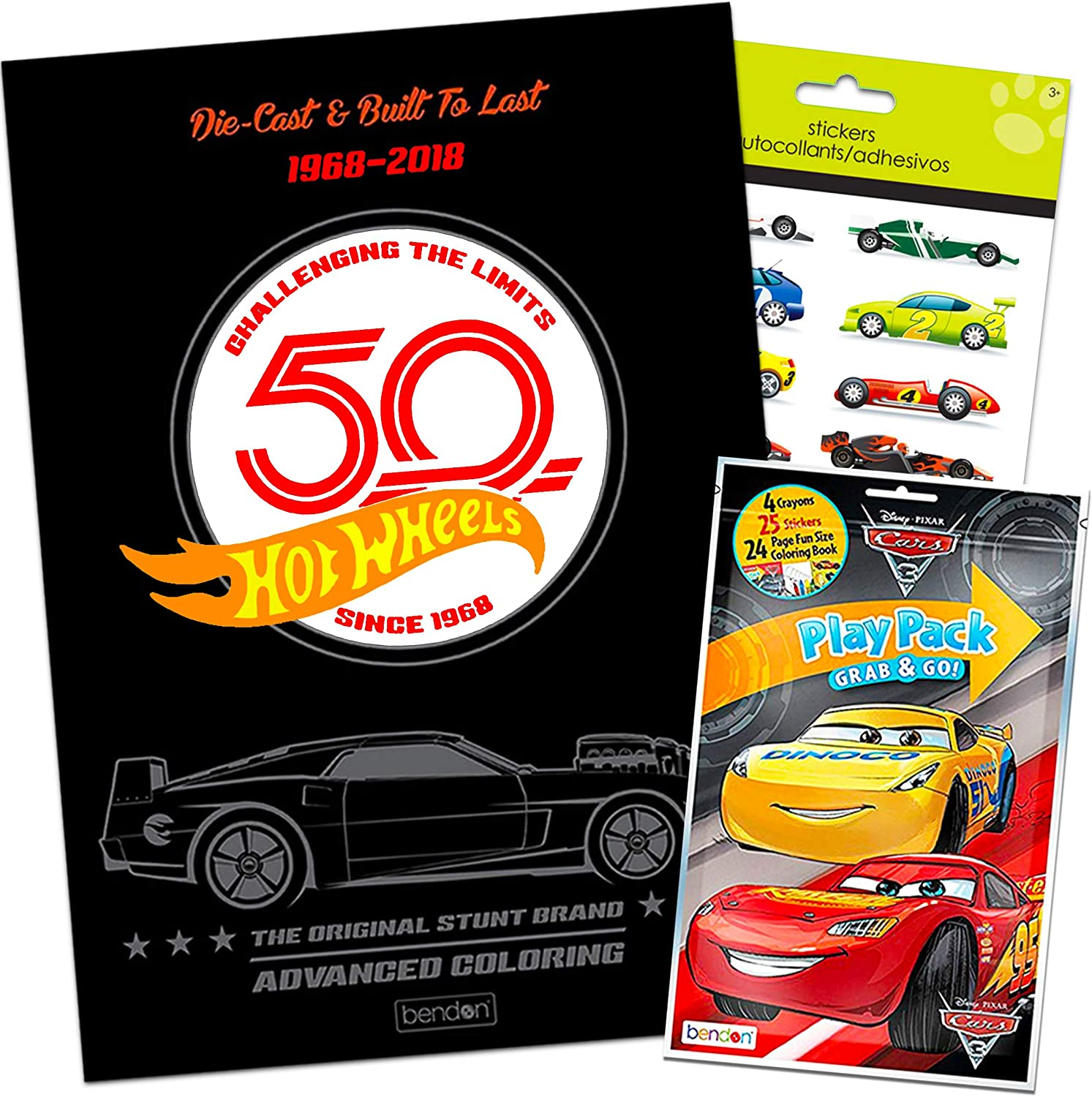 - Amazon.com: Hot Wheels 96 Page Coloring Book Coloring Fun Pack