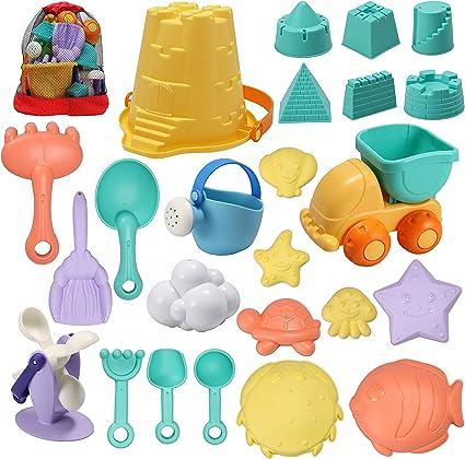 2X//set Sand Water Beach Play Toys Set Kids Seaside Shovel Rake Kit Funny Tool PB