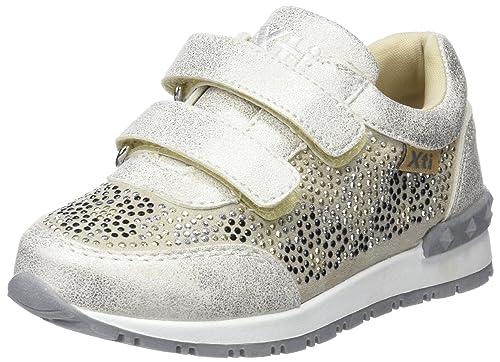 XTI 555590, Zapatillas sin Cordones para Niñas, Dorado (Oro), 24 EU