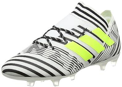 sale retailer 89eda 3109d adidas Nemeziz 17.2 FG, Chaussures de Football Homme, Jaune (Footwear White  Solar