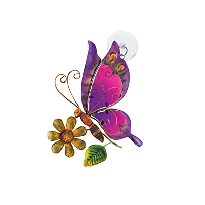 Regal Art & Gift Sun Catcher, Butterfly : Garden & Outdoor