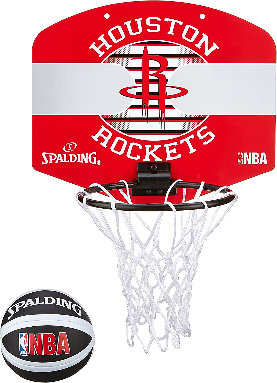 Spalding NBA Miniboard Houston Rockets 77-663Z Minicanasta, Unisex ...