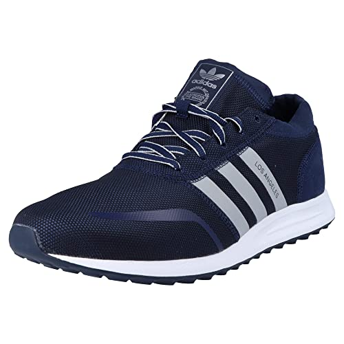 7967985383a adidas Boys Originals Junior Boys Los Angeles Trainers in Blue - UK 4.5