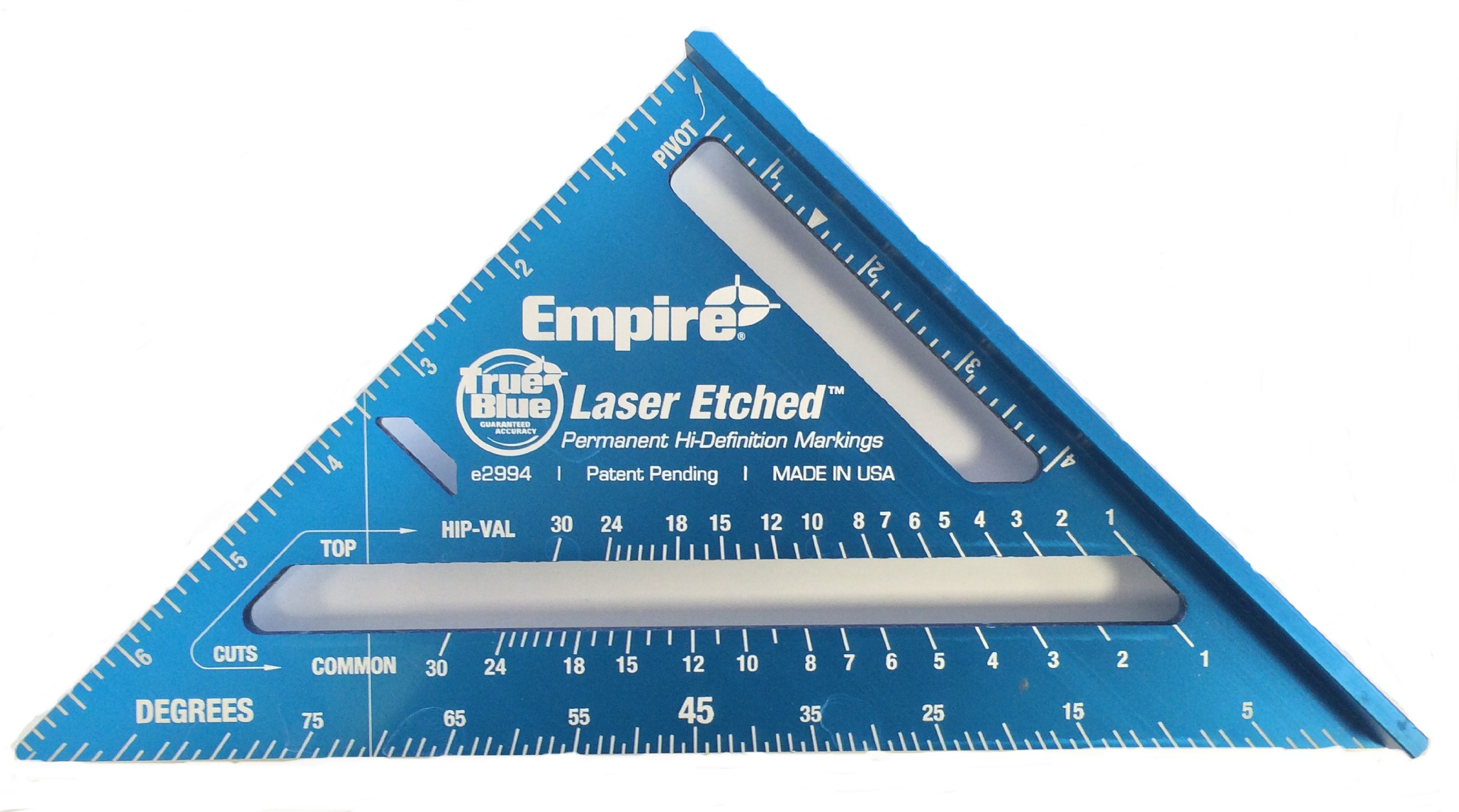 Empire Level E2994 7-Inch High Definition Rafter Square