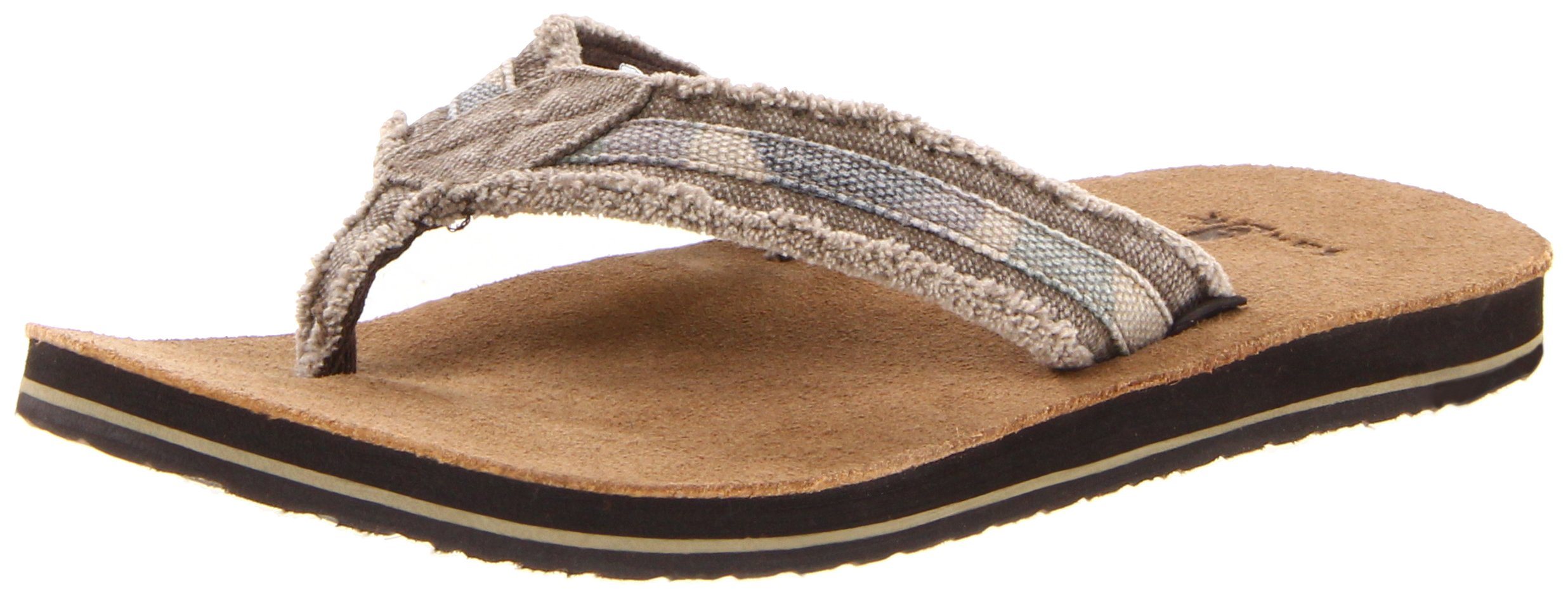 Sanuk Men's Fraid So Flip Flop,Camo,8 M US